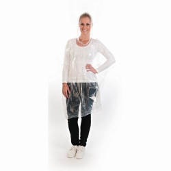 Poncho, transparent, PE